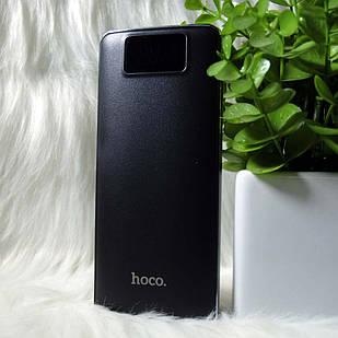 """Внешний аккумулятор Power bank """"Hoco"""" B23A 15000mAh Черный (black)"""