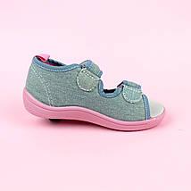 Детские текстильные сандалии для девочки тм Том.м размер 25, фото 3