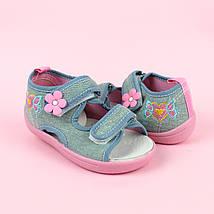 Детские текстильные сандалии для девочки тм Том.м размер 25, фото 2