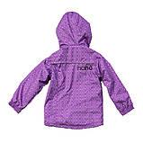 Демисезонная куртка-ветровка для девочки Nano S17J268 Lavander. Размеры 2 - 7 лет., фото 3