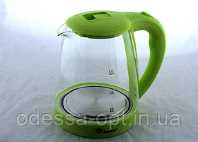 Чайник Domotec MS 8212 Light green стекло