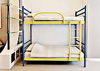 Кровать 2-х ярусная FLY DUO 900х2000 коричн. (МЕТАКАМ)
