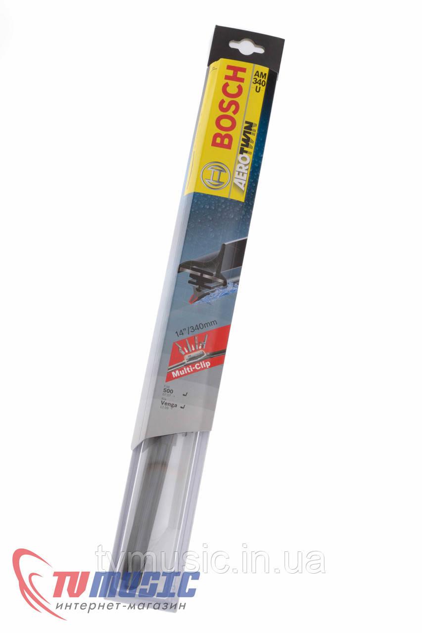Щетка стеклоочистителя Bosch AeroTwin AM340U (3 397 008 795)