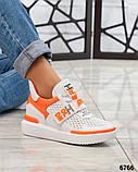 Стильные женские кроссовки сникерсы беккеты, фото 2
