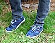 Кросівки кеди чоловічі сині відмінної якості 40, 41 і 45 розмір, фото 6