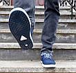 Кросівки кеди чоловічі сині відмінної якості 40, 41 і 45 розмір, фото 3