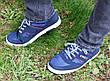 Кросівки кеди чоловічі сині відмінної якості 40, 41 і 45 розмір, фото 4