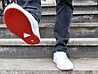 Кросівки кеди чоловічі білі відмінної якості, фото 4