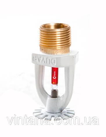 Спринклер пожарный, Duyar (Турция), розеткой вниз, 57, 68, 79°C, стандартного срабатывания, белый., фото 2
