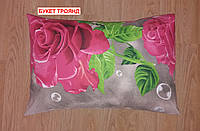 Наволочка бязь 50х70 - Букет троянд, фото 1