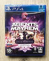 Agents of Mayhem (рус. суб.) PS4, фото 1