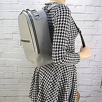 Рюкзак Mihey piton big серый из натуральной кожи kapri 1320602, фото 1