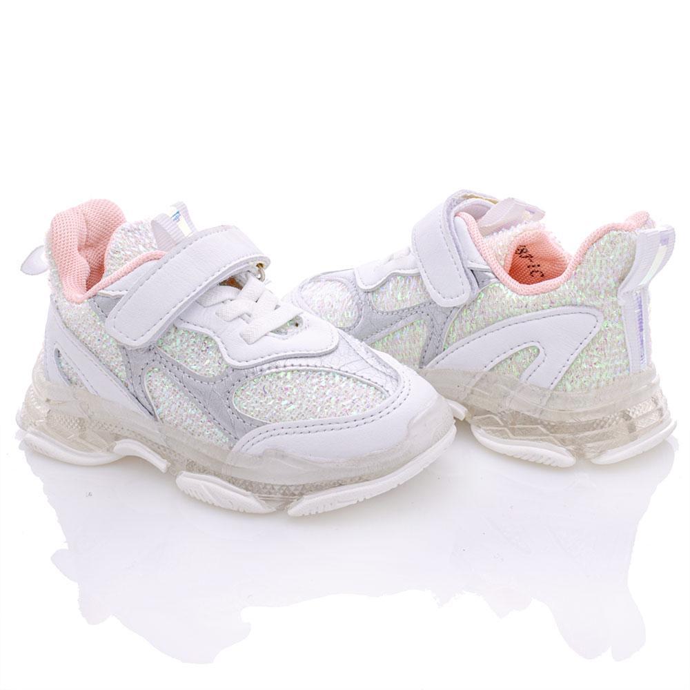 Кроссовки для девочек Kimboo 21  белый 980859