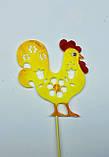 Курочка с петушком на палочках, Пасхальный декор ОПТ/Розница, фото 3