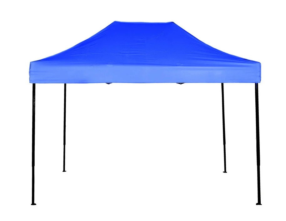 Шатер раздвижной 3х4.5 м синий