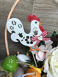 Курочка с петушком на палочках, Пасхальный декор ОПТ/Розница, фото 9