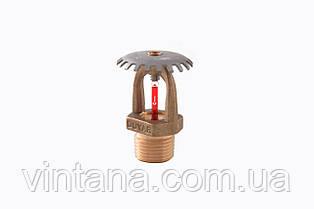 Спринклер пожарный Duyar (Турция), розеткой вверх, быстрого срабатывания, латунь