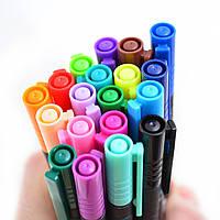 """Файнлайнер """"Santi"""" цветной универсальный, толщина 0,4 мм 741660"""