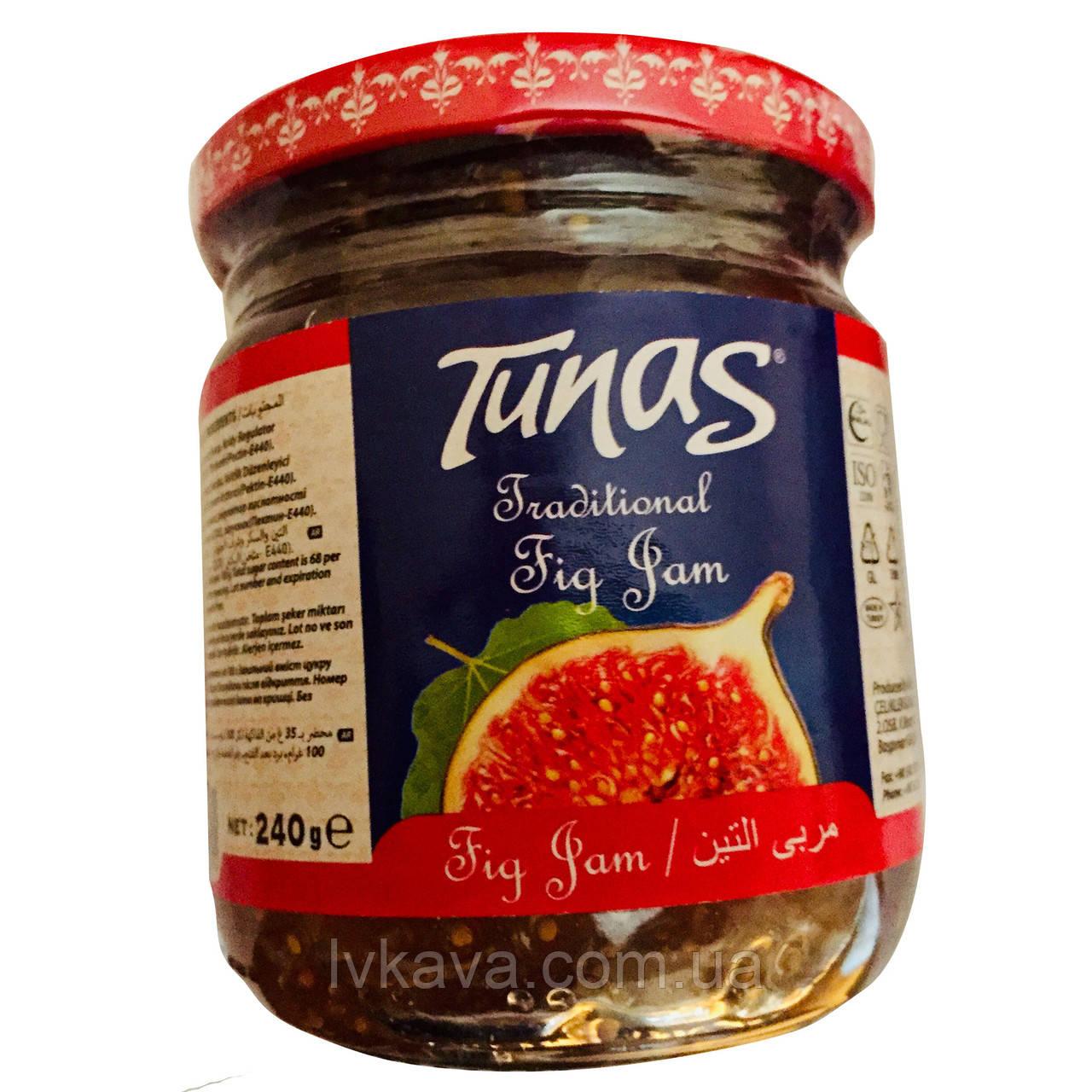 Джем инжирный Tunas , 240 гр