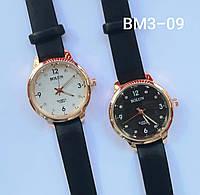 Женские наручные часы классические Bolun BM3-09 c Черным ремешком