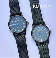 Женские наручные часы классические Bolun BM3-27 c Черным ремешком