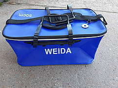 Сумка для Рыбы замеса и прикормки 50  см  Weida с окошком 34 л