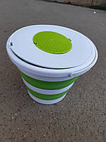 Ведро складное Weida 14 литров разные цвета