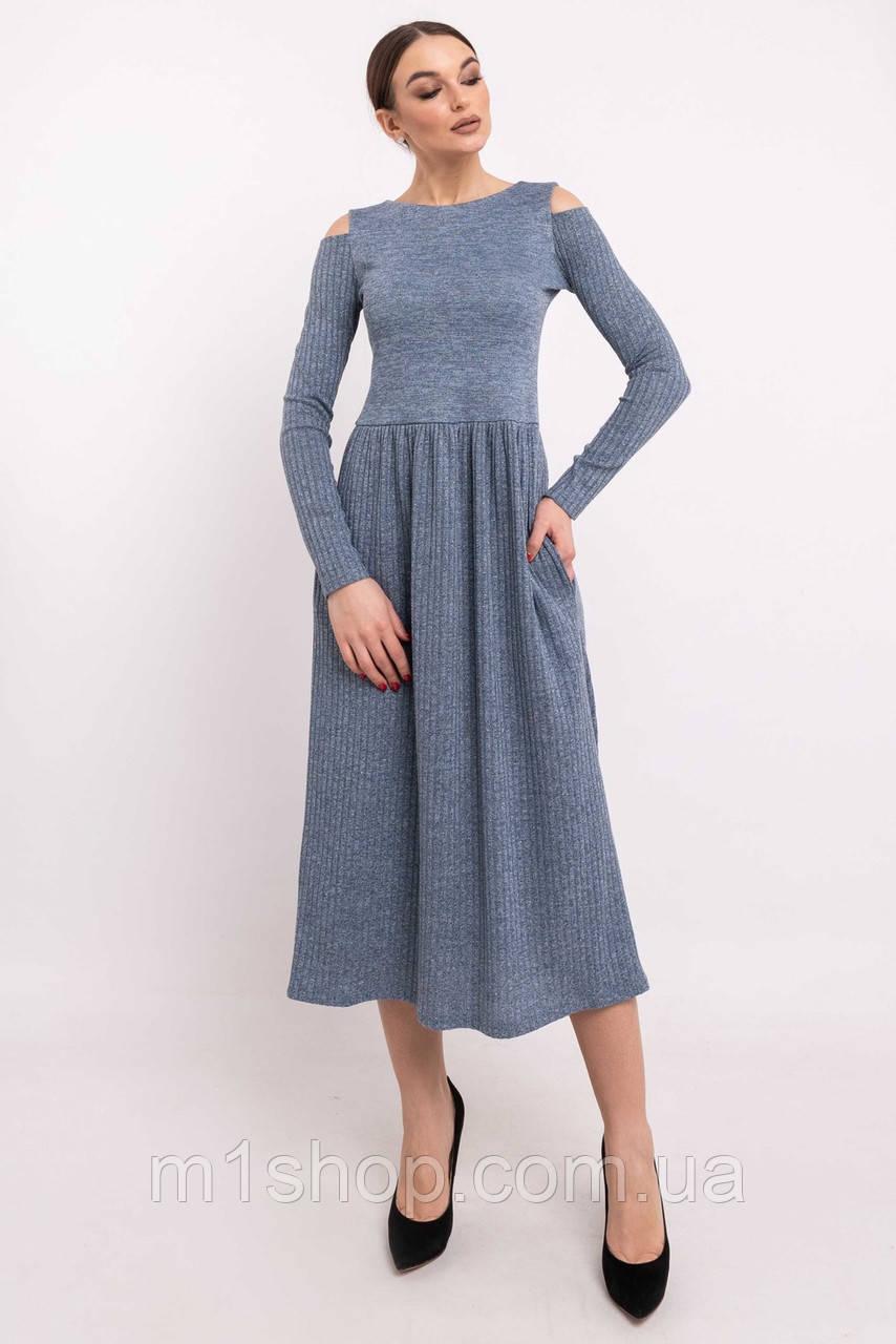 Женское трикотажное платье-миди (Венди ri)