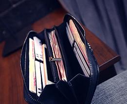 Женский клатч,портмоне,кошелек Classic, фото 3