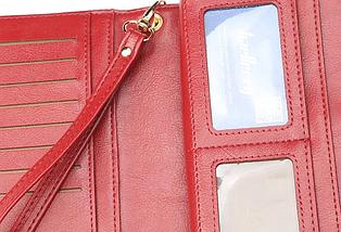 Жіночий гаманець Baellerry (малиновий), фото 3