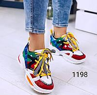 Женские кроссовки,разноцветные