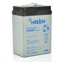 Аккумуляторная батарея Merlion AGM GP660F1 6V 6Ah