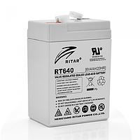 Аккумуляторная батарея AGM Ritar RT640 6V 4Ah
