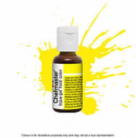 Пищевой гелевый краситель Chefmaster Liqua-Gel Neon Brite Yellow (электрик желтый), фото 1