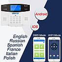 Emastiff G2BW Wi Fi GSM PSTN домашняя охранная беспроводная сигнализация., фото 4