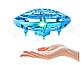 Квадрокоптер міні 'Літаюча тарілка' ручної дрон UFO з Led підсвічуванням Y1102, фото 5