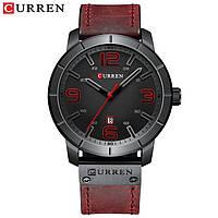 Годинник CURREN 8327 Black Red 47mm (Quartz)., фото 1