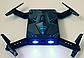 Складной квадрокоптер, селфи дрон S8 с Wi-Fi камерой, фото 4
