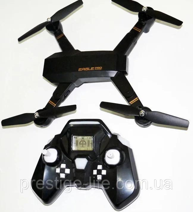 Складаний квадрокоптер, дрон S9 з Wi-Fi-камерою