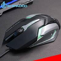 """Компьютерная USB Мышь S150 со светодиодным светом 2400 dpi, игровая мышка """"SHIPADOO"""""""