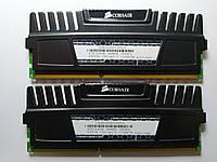 Комплект оперативной памяти Corsair Vengeance DDR3 8Gb (2*4Gb) 1600MHz PC3-12800 (CMZ8GX3M2A1600C9) Б/У, фото 1
