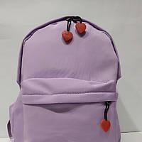 Маленький женский рюкзак, городской, спортивный лиловый