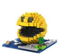 Детский конструктор,конструктор PAC MAN Lego,конструктор пиксель 300 деталей