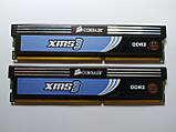 Комплект оперативной памяти Corsair XMS3 DDR3 4Gb (2*2Gb) 1600MHz PC3-12800 (HX3X12G1600C9) Б/У, фото 2