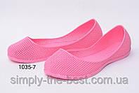 Розовые резиновые балетки,для моря,бассейна и не только, фото 1