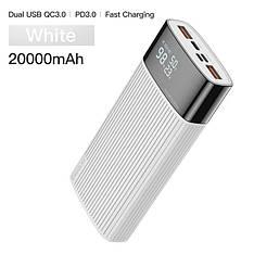 Оригінальний Power Bank KUULAA 20000 маг QC3.0 USB Type-C PD Швидка зарядка 18 Вт White