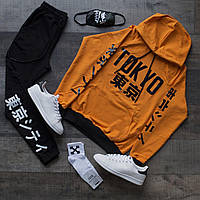 Комплект, спортивный костюм(Худи +Штаны + Маска+Носки) Tokyo