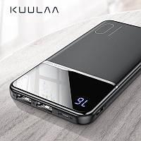 Оригинальный Power Bank KUULAA 10000 мАч с LED индикацией Black