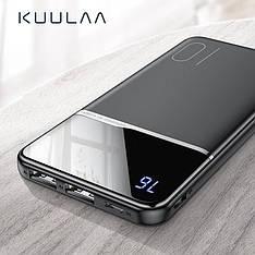 Оригінальний Power Bank KUULAA 10000 маг з LED індикацією Black