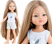 Лялька Маника 32 см Paola Reіna 13208 в піжамі, фото 1